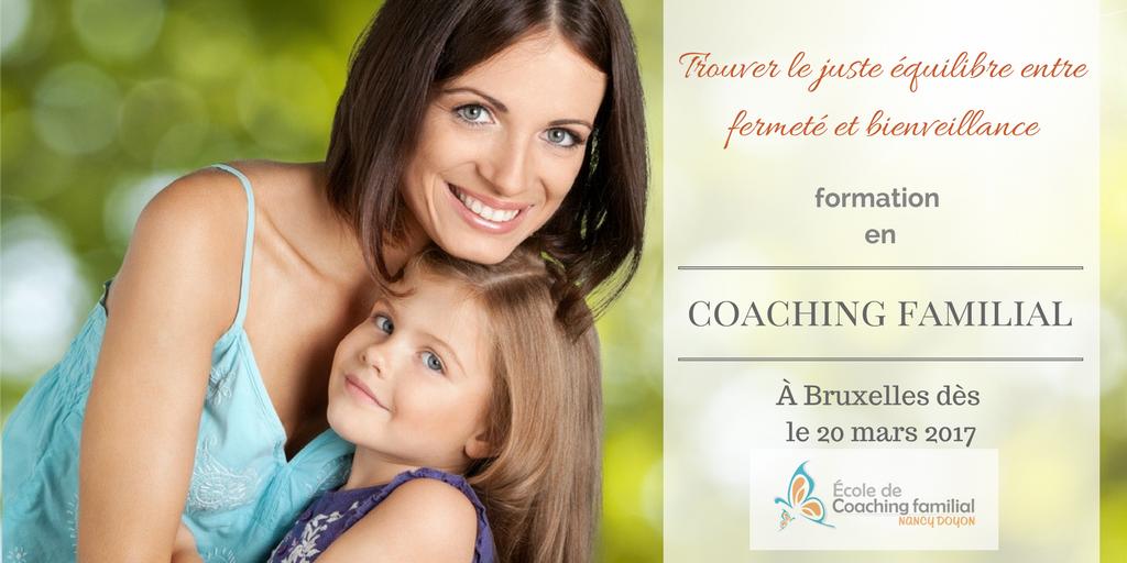 formation en coaching familial