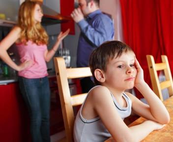 Parents swear, and child worries