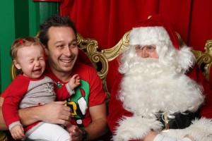 L'enfant qui avait peur du Père-Noël: l'inévitable tradition du temps des fêtes!