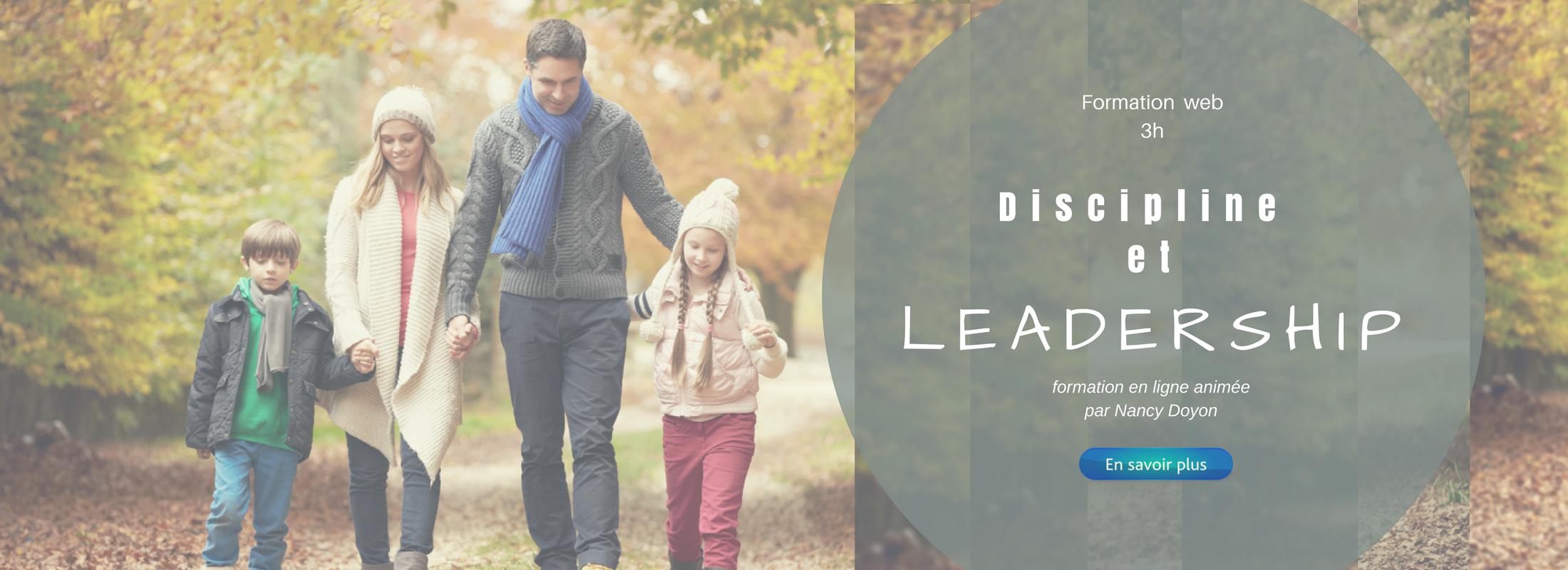 Discipline et leadership